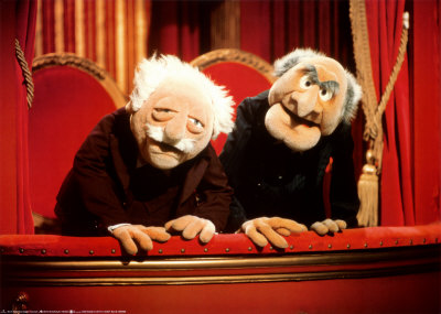 Statler & Waldorf or Hupp and Linardo.  Who knows?