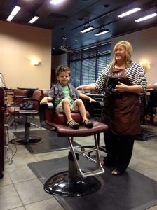 ... a good haircut.  Thanks Courtney!