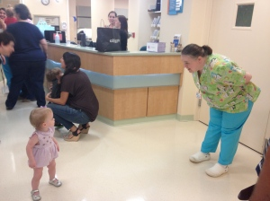 Back to where it all began. Hi Nurse Paula!