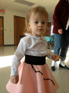 Giving back at the NICU Sock Hop fundraiser.