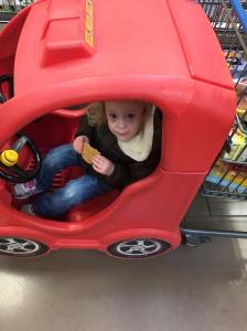 Cute Kroger shopper by day...
