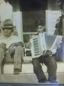 On the stoop in South Phila. Early 40s I think.