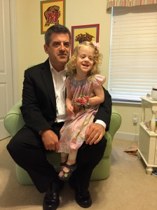 1st daddy/daughter dance.