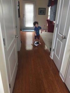 The Pele of Hallway Futbol