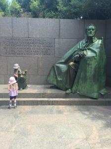 Big President - Little people.