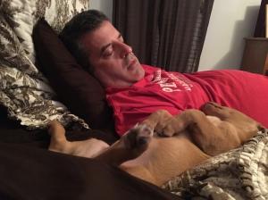 Me and Milo Dog.